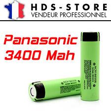NCR18650B 1 PILE BATTERIE PANASONIC TYPE 18650 3400 MAH ORIGINAL OEM 3,7 V