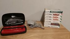 Nintendo DSi Red Console Bundle - 7 Games + Official Charger + Case - VGC Tested