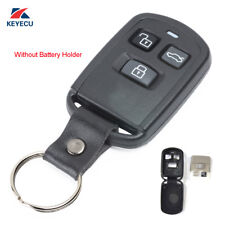 Remote Key Shell Case 3 Button for Hyundai Accent Elantra Sonata XG350 2002-2005
