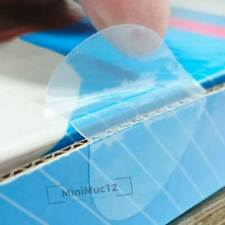 52x Aufkleber Klebepunkte transparent ø 40 mm Verschluss Etiketten Klebesiegel