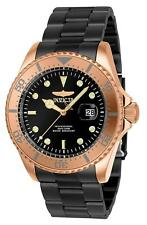 Invicta 23401 Pro Diver Men's 43mm Rose-Tone Stainless Steel Gunmetal Dial Watch