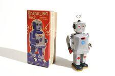 + Blechspielzeug  ROBOTER MIke mit Feuerstein °° Tin Toy °° Jouet en Tôle °°