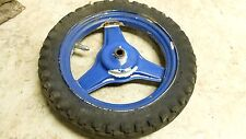 00 Yamaha PW50 PW 50 Y-Zinger rear back wheel rim