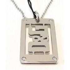 jnp dj0720 DOLCE & GABBANA acier inoxydable plaque d'identité militaire collier