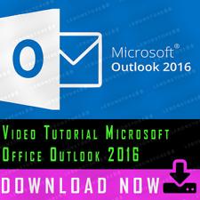 Microsoft Office Outlook 2016 Video Tutorial