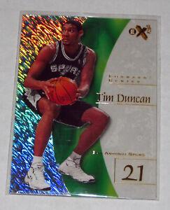 1997-98 EX-2001 #75 Tim Duncan Rookie RC, Clear, Acetate!