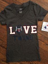 NWT Minnesota Love Twins Girls T Shirt XS 4/5