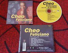 Latin Salsa CHEO FELICIANO **Una Voz...Mil Recuerdos** SCARCE 1999 Spain CD