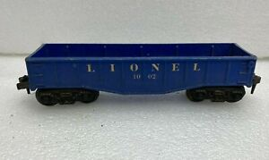 Lionel Gondola-blue #1002, has no load