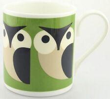 Orla Kiely Apple Owl Mug Green Fine Bone China