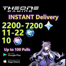 [Instant] Genshin Impact [America]  Reroll Starter Accounts ,7200+ Primogems