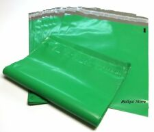 25 GREEN COLOR POLY MAILER BAGS 7.5 x 10.5 BOUTIQUE SHIPPING ENVELOPE MAILING