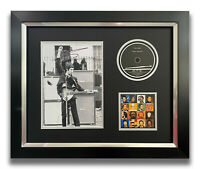 PETE TOWNSHEND HAND SIGNED FRAMED CD DISPLAY - THE WHO - FACE DANCES.