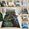 3D Animal Print Duvet Sets 3D Bedding Set 3D Printed Quilt Cover Pillow Cases