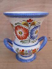 Grand vase vintage faïence Henriot Quimper