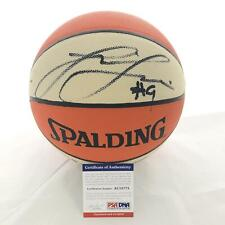 Lisa Leslie Signed Wnba Basketball Psa/Dna Autographed Los Angeles Sparks