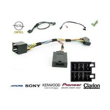 COMMANDE AU VOLANT Opel Tigra Twin-top 2005- - Pour SONY complet avec interface