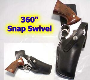 """H704 DON HUME PD Swivel Holster for S&W K Frame 10 15 19 64 66 68 4"""" RUGER GP100"""