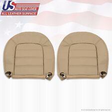 2002-2005 Ford Explorer XLS Driver & Passenger Bottom Leather Seat Cover Tan