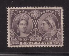CANADA 1897 MINT #56, 8 centS QUEEN VICTORIA JUBILEE !! R