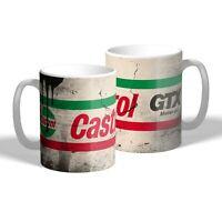 Castrol GTX Mug Vintage Oil Can Effect Car Mechanic Tea Coffee Mug Gift