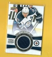 D17151  2015-16 Upper Deck Game Jerseys #GJBW Blake Wheeler JETS