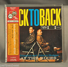 DUKE ELLINGTON & J HODGES Back to Bk JAPAN Mini LP CD POCJ-2737 Xtrm RARE Ltd Ed