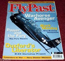 Flypast 2001 March Lysander,Avenger,Sea Fury,B-24,Mosquito,C-47,Pyote,Malta