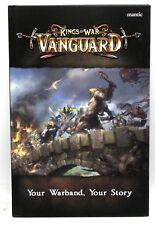 Kings of War Vanguard MGVAM101 Rulebook (Book) Fantasy Skirmish Core Rules
