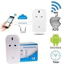 WIFI wireless mobile app telecomando Smart presa timer interruttore di alimentazione UK spina