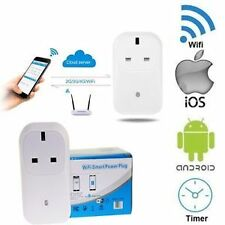 Smart WiFi Power Plug Wireless Mobile App Remote Control Socket Timer Switch