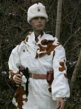 Reproduction Soviet Ww2 2pc white with brown ameba winter camouflage