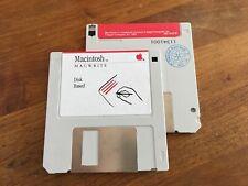 Macintosh  MAC WRITE floppy disk 400K (1985) 690-5024B