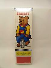 Vtg 1986 Schylling Ernest The Balancing Bear Circus Toy