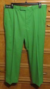 Men's Polo Ralph Lauren RLX Green golf pants size 30x32  brand new NWT $165