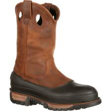 Georgia Boot muddog Puntera De Acero Wellington Impermeable