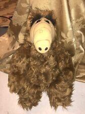 "Vintage 18"" ALF Plush Doll Coleco Alien Productions Stuffed Animal 1986"