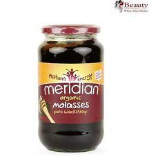 1 x meridian organic pure Blackstrap mélasse 740g * Unsulphured *