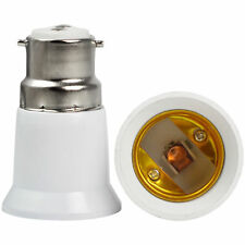 Bayonet BC B22 to Screw ES E27 Light Bulb Adaptor Lamp Converter Holder