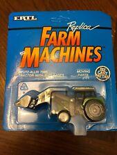 1991 Diecast 1:64 Ertl Deutz Allis 7085 Green 2wd Farm Tractor 2233 END LOADER