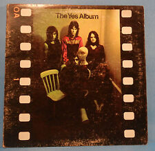"""THE YES ALBUM SD8283 VINYL LP 1971 RE '73 """"ALL GOOD PEOPLE"""" PLAYS GREAT! VG/VG!!"""