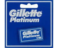 Gillette Platinum Razor Blades with a double edge (20 boxes per 5 blades)