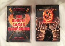 Lot of 2 Books The World of the Hunger Games & The Hunger Games Companion