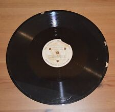 """Vintage custom shellac 78rpm 12"""" record - Reaper's Song & Malaguena/Evening"""