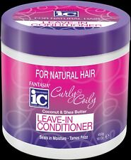 Fantasia IC Curly Coily Leave-in Conditioner Seal Moisture Tame Frizz Hair 453g