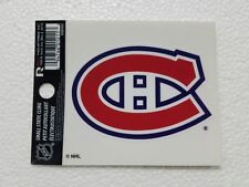 """Montreal Canadiens 3"""" x 4"""" Small Static Cling - Truck Car Window Decal NEW NHL"""