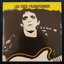 Lou Reed Transformer LP Record Album 1972  Greek Pressing BMG Ariola