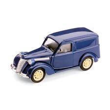 FIAT 1100 E FURGONE 1947-48 BLU 1:43 Brumm Auto Stradali Die Cast Modellino