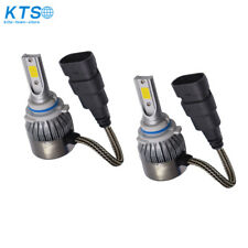 2x 9006 HB4 3000K Golden Yellow High Power COB LED Fog Lights Driving Bulb DRL