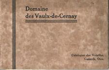 Auffargis,Domaine des Vaulx-De-Cernay. Catalogue Volailles,Canards,Oies.40 pages